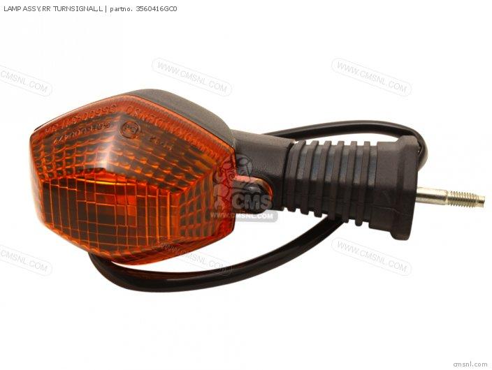 LAMP ASSY RR TURNSIGNAL L