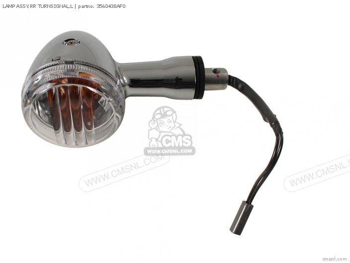 Lamp Assy, Rr Turnsignal, L photo