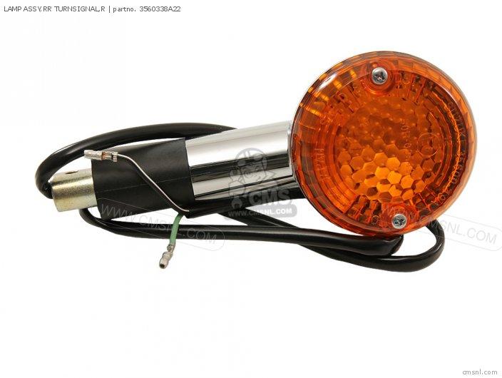 Lamp Assy, Rr Turnsignal, R photo