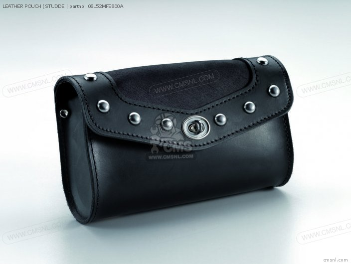 Vt750 Shadow Spirit Leather Pouch studde