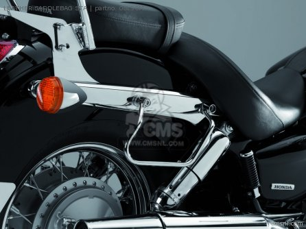 Vt750c Shadow Leather Saddlebag Sta