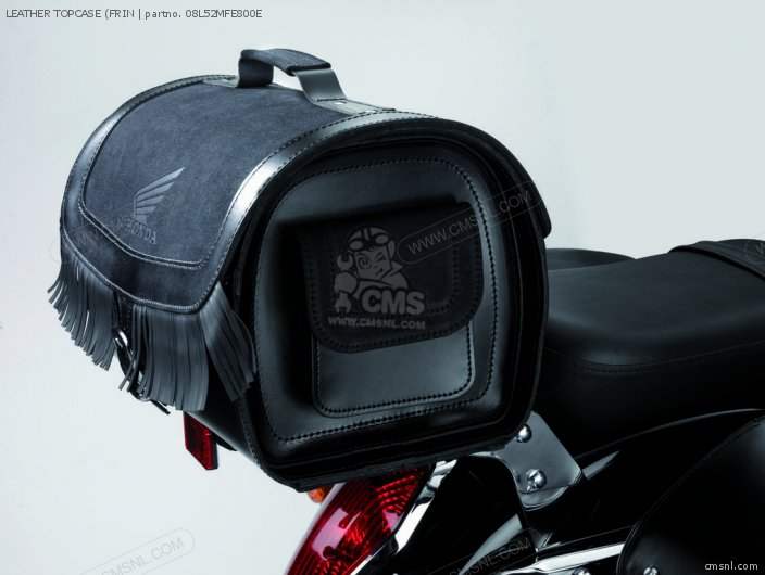 Vt750c Shadow Leather Topcase frin