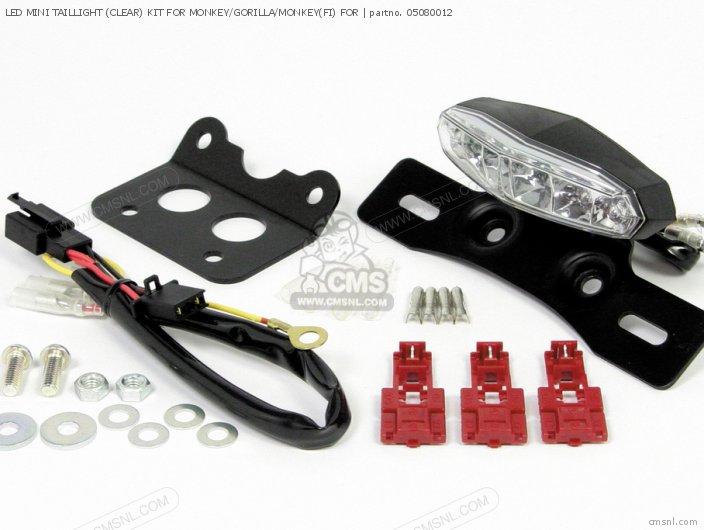 Led Mini Taillight (clear) Kit For Monkey/gorilla/monkey(fi) For photo
