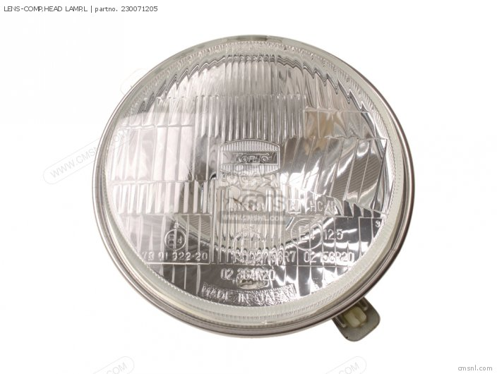 LENS-COMP, HEAD LAMP,L