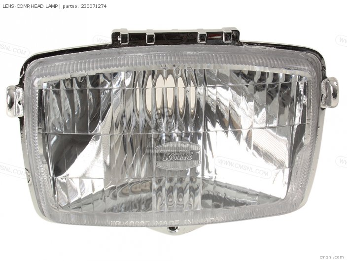 LENS-COMP, HEAD LAMP