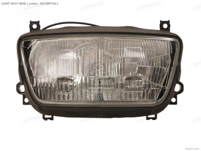 ST1100A PANEUROPEAN 1999 X EUROPEAN DIRECT SALES   ABS LIGHT ASSY HEAD