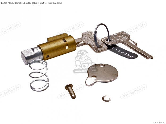 Lock Assembly, Steering (nei photo