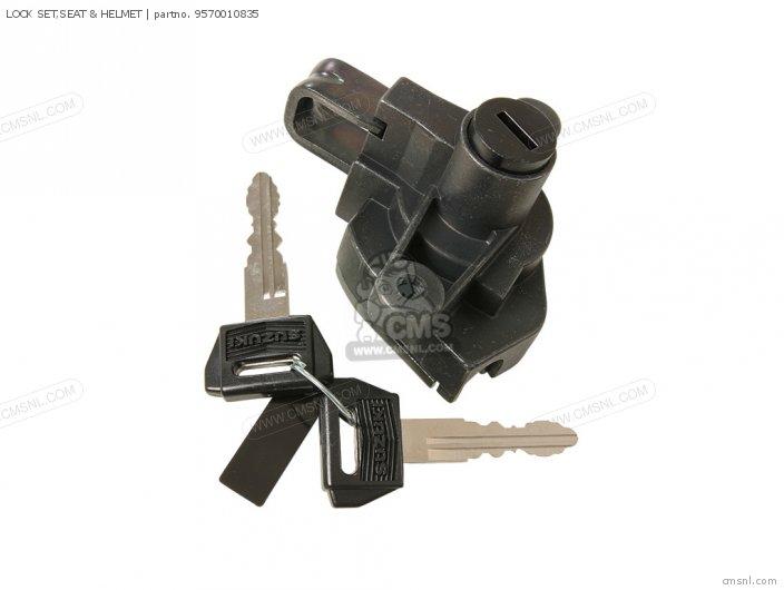 Lock Set, Seat & Helmet photo