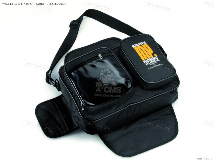Vtx1300s Magnetic Tank Bag