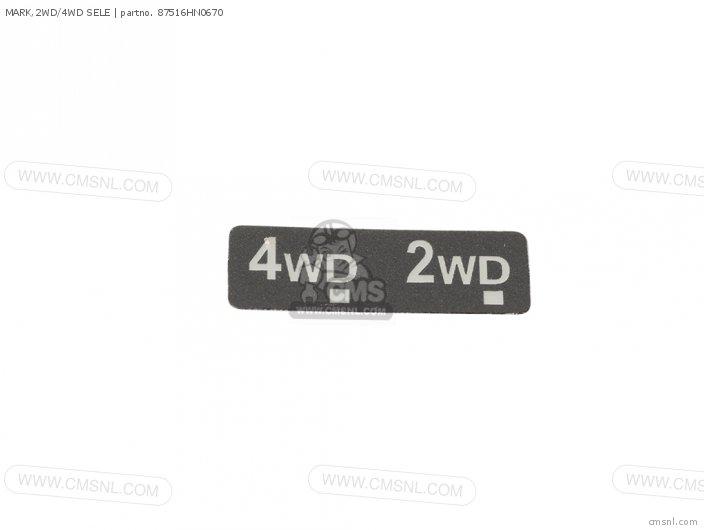 MARK,2WD/4WD SELE