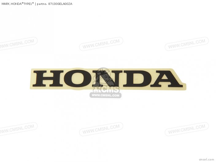 MARK,HONDA*TYPE1*