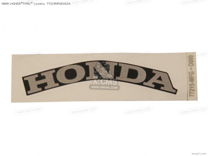 Mark, Honda*type1* photo