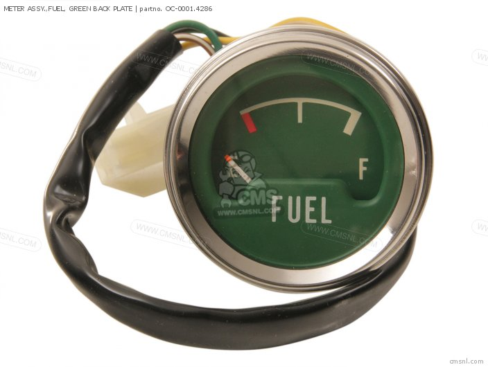 Meter Assy.,fuel, Green Back Plate photo
