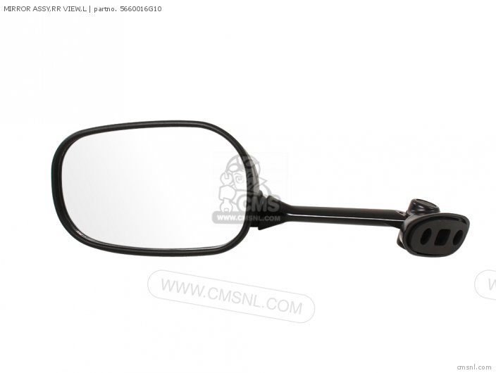 Mirror Assy, Rr View, L photo
