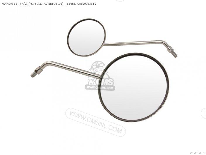 Mirror Set, (r/l) (non O.e. Alternative) photo