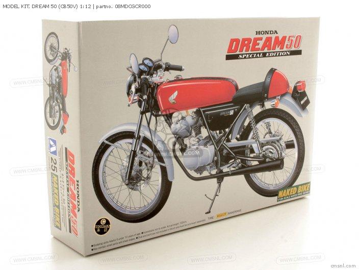 MODEL KIT  DREAM 50 CB50V 1 12