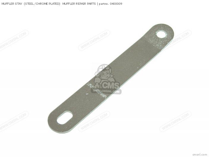 Muffler Stay  (steel /chrome Plated)  Muffler Repair Parts photo
