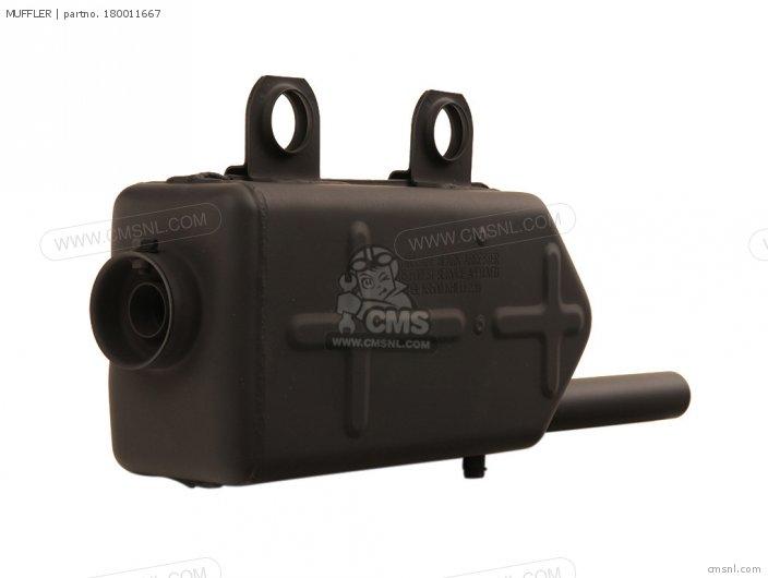 Klf220-a9 Bayou220 1996 Usa Canada Muffler