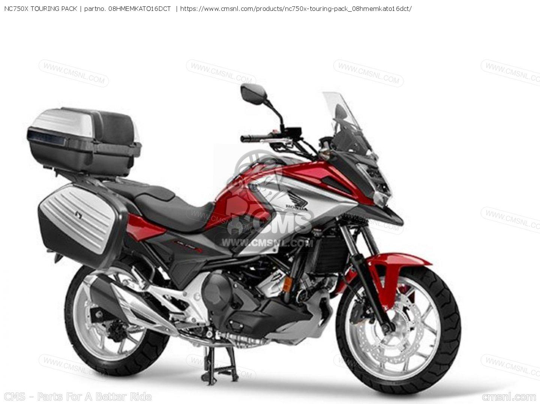 08hmemkato16dct Nc750x Touring Pack Honda Buy The 08hme Mka