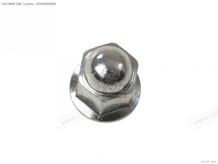 NUT,9MM CAP