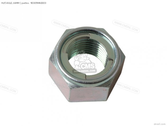 NUT,AXLE,16MM