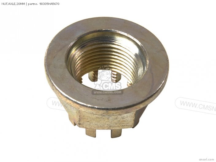 NUT,AXLE,20MM