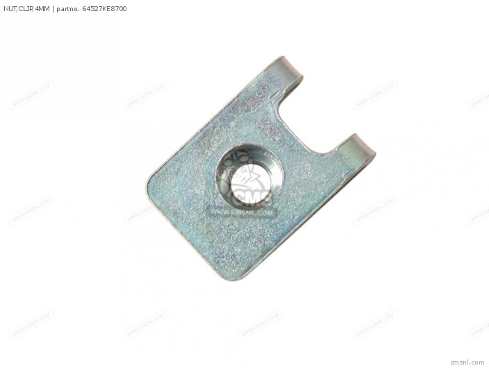 NUT,CLIP,4MM