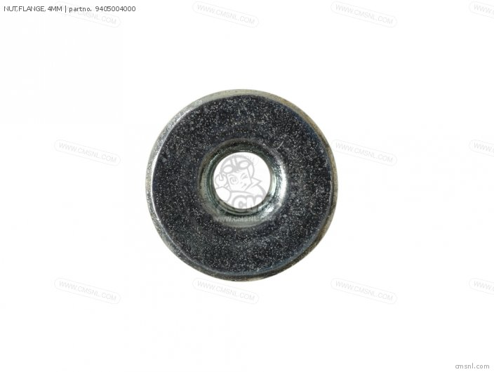 NUT,FLANGE,4MM