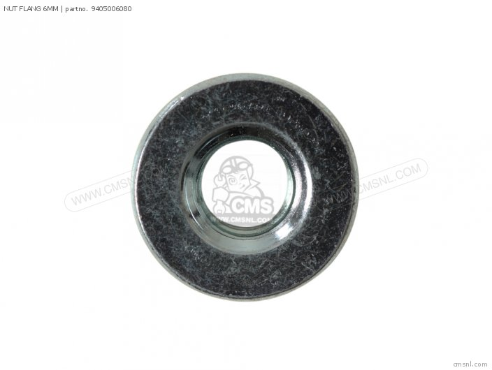NUT FLANGE 6MM