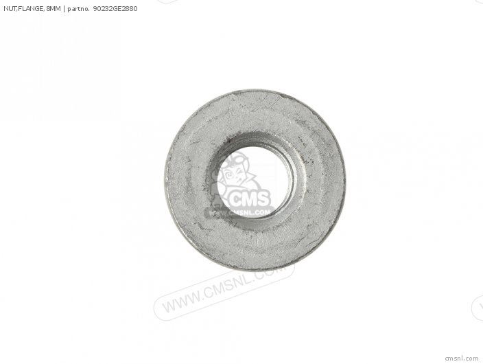 Crm75r 1989 k Spain Nut flange 8mm