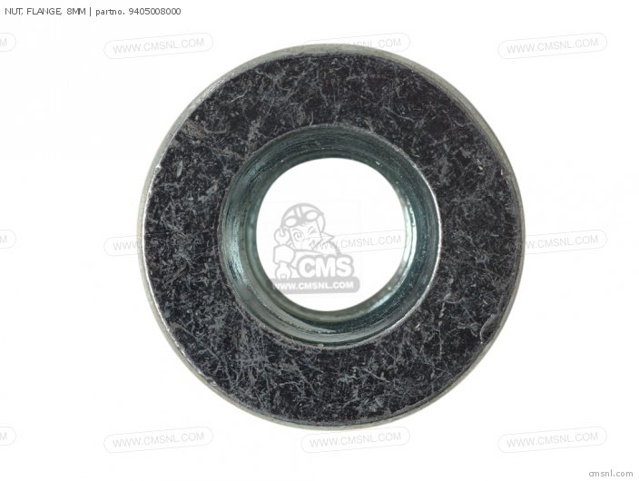 NUT, FLANGE, 8MM