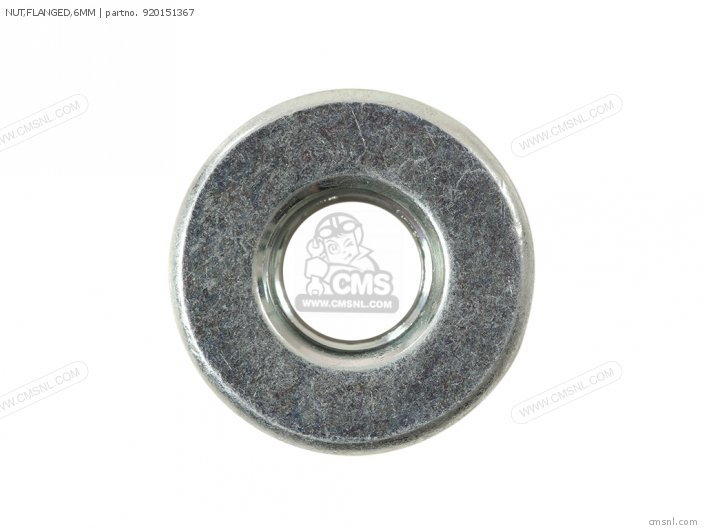 NUT FLANGED 6MM