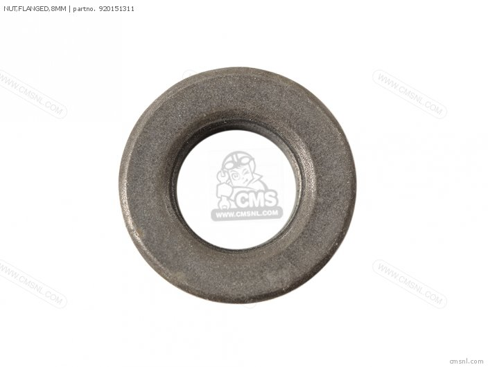 NUT FLANGED 8MM