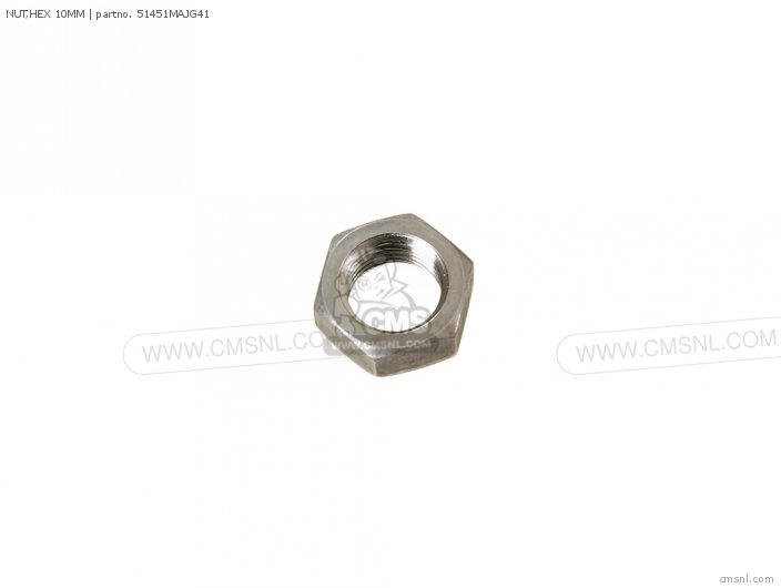 NUT,HEX 10MM