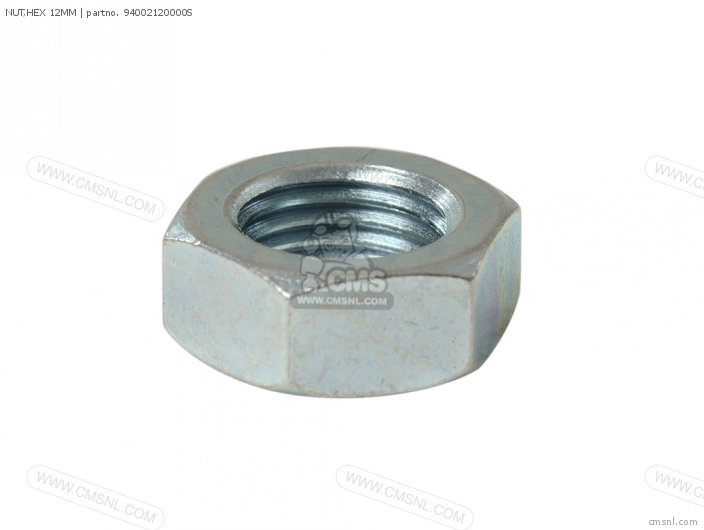 NUT,HEX 12MM