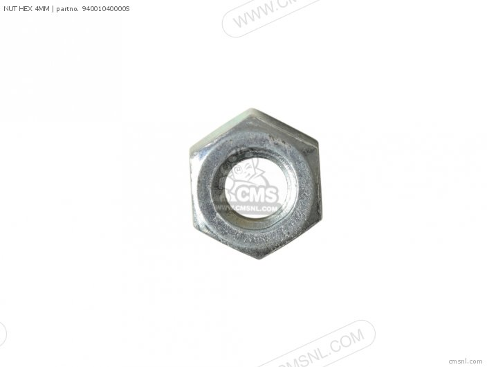 NUT HEX 4MM