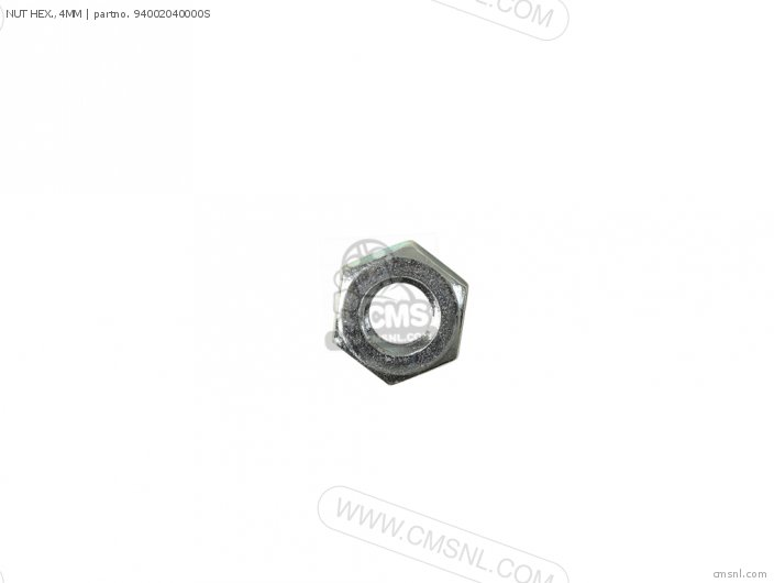 NUT HEX.,4MM