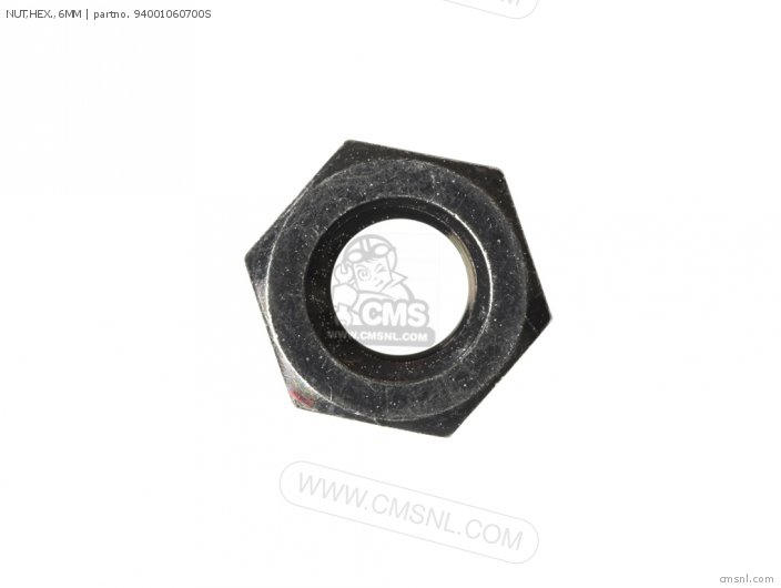 NUT HEX  6MM
