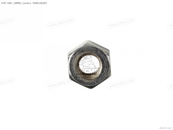 NUT, HEX. (6MM)