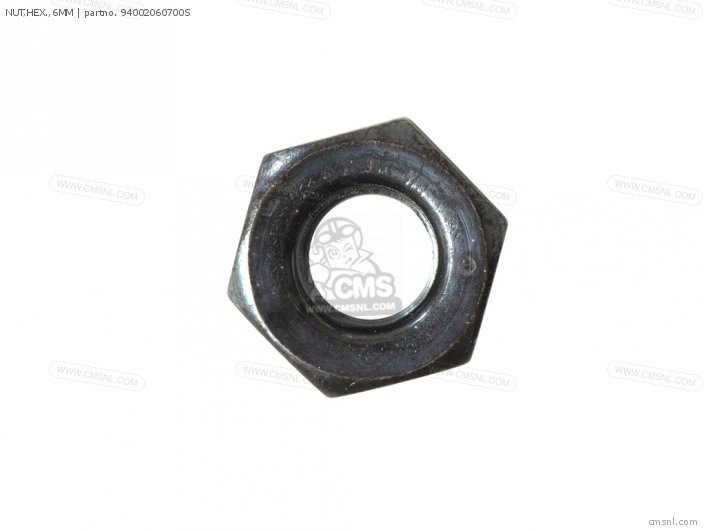 NUT,HEX.,6MM