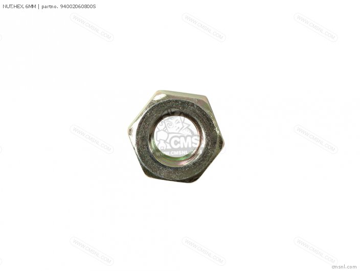 NUT,HEX,6MM