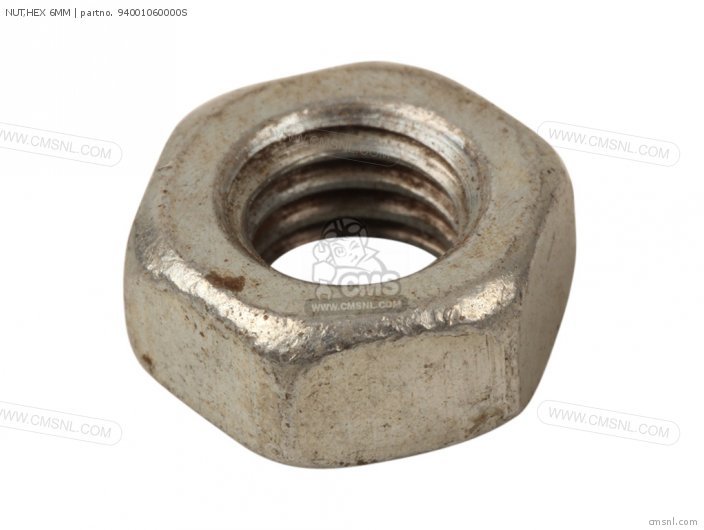 NUT,HEX 6MM