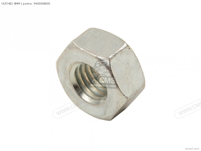 NUT HEX 8MM