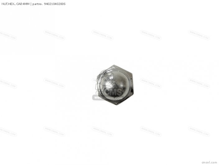 NUT,HEX.,CAP,4MM
