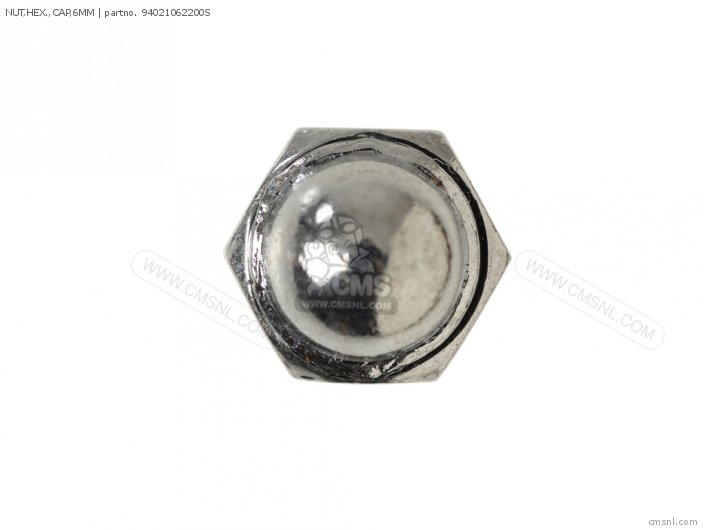 NUT HEX  CAP 6MM