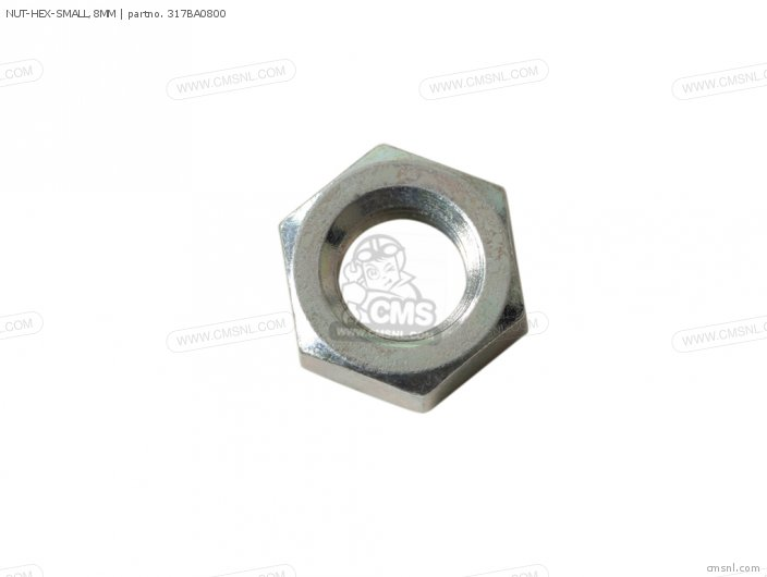 NUT-HEX-SMALL 8MM