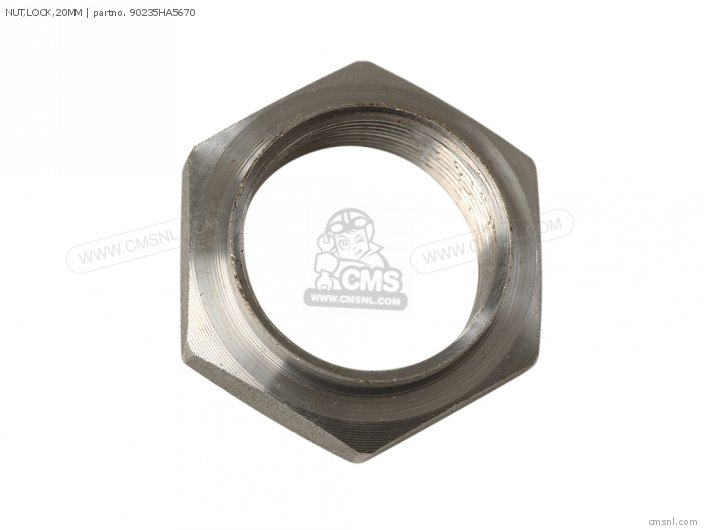 NUT,LOCK,20MM