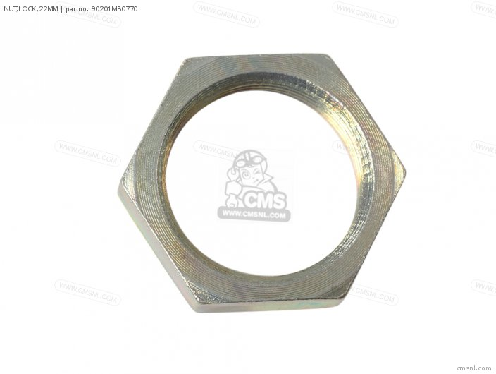 NUT,LOCK,22MM
