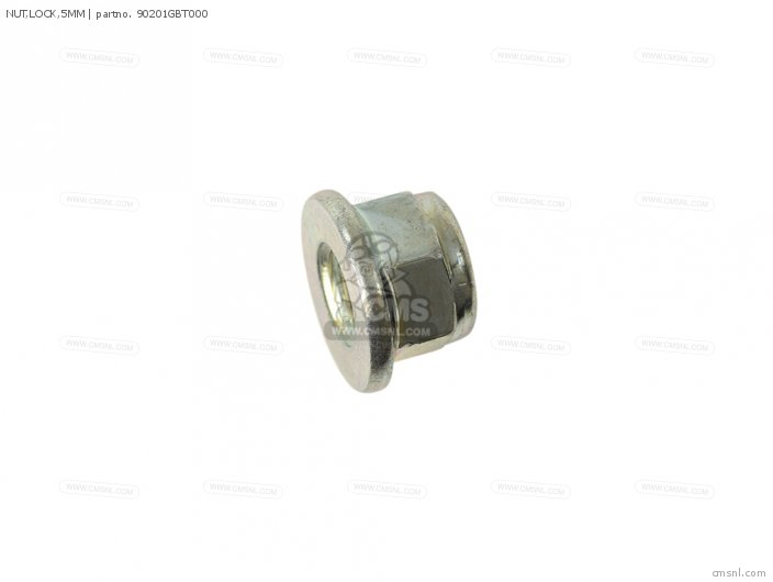 NUT,LOCK,5MM
