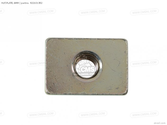 NUT PLATE 6MM